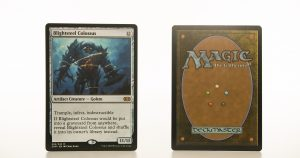 Blightsteel Colossus 2XM Double Masters hologram mtg proxy magic the gathering tournament proxies GP FNM available