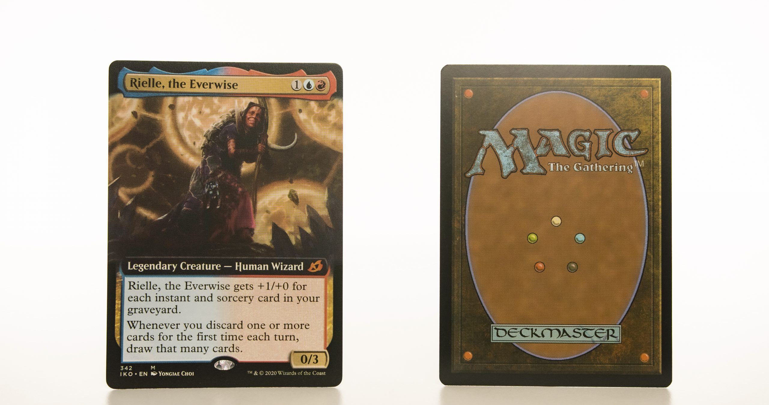 Rielle, the Everwise Ikoria: Lair of Behemoths (IKO) hologram mtg proxy magic the gathering tournament proxies GP FNM available