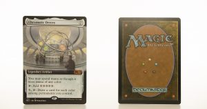 Chromatic Orrery extended art core set 2021 M21 hologram mtg proxy magic the gathering tournament proxies GP FNM available