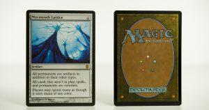 Mycosynth Lattice  mtg proxy magic the gathering tournament proxies GP FNM available