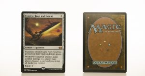 Sword of Feast and Famine 2XM Double Masters hologram mtg proxy magic the gathering tournament proxies GP FNM available