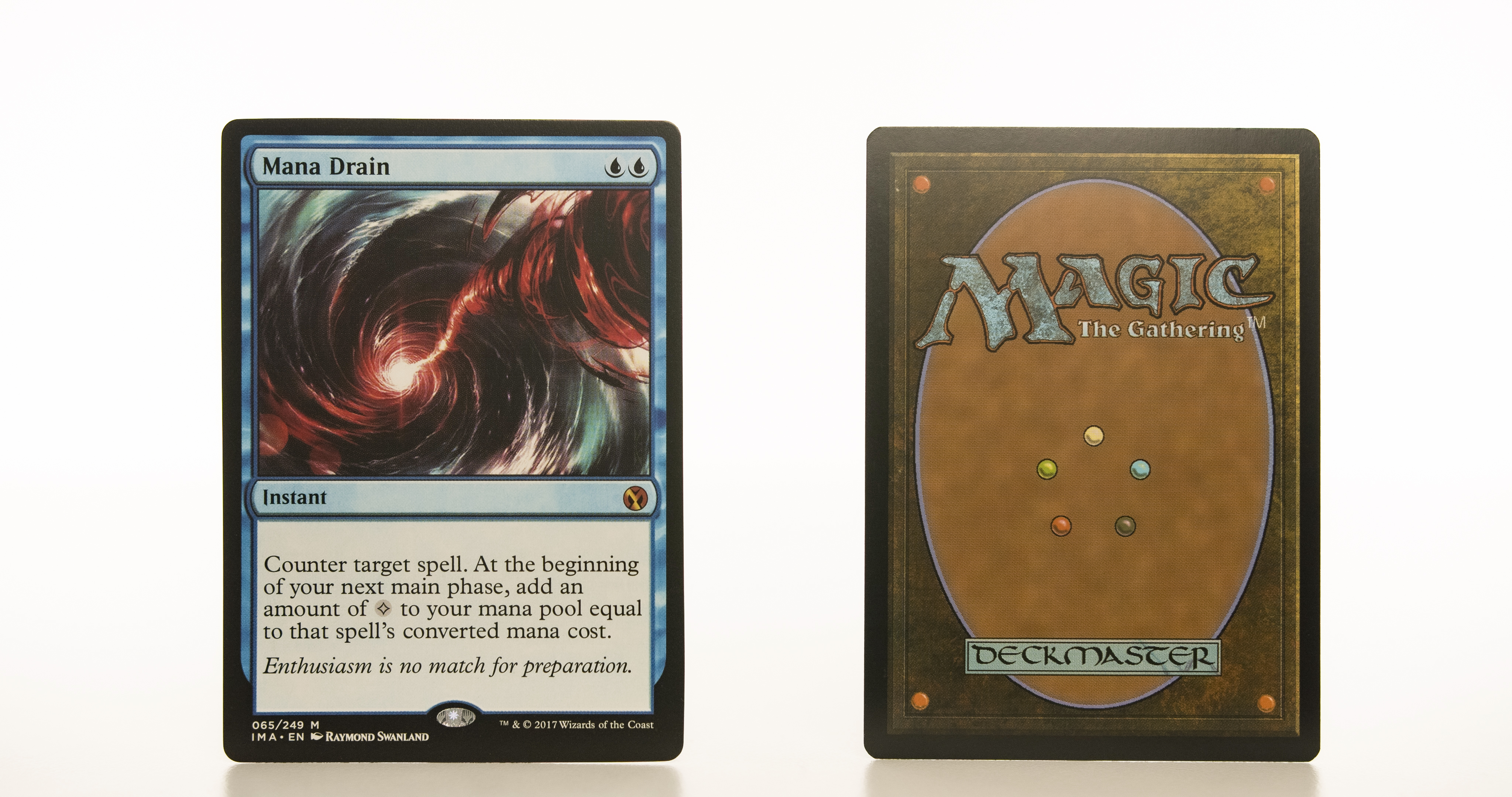 Mana Drain IMA Iconic Masters mtg proxy magic the gathering tournament proxies GP FNM available