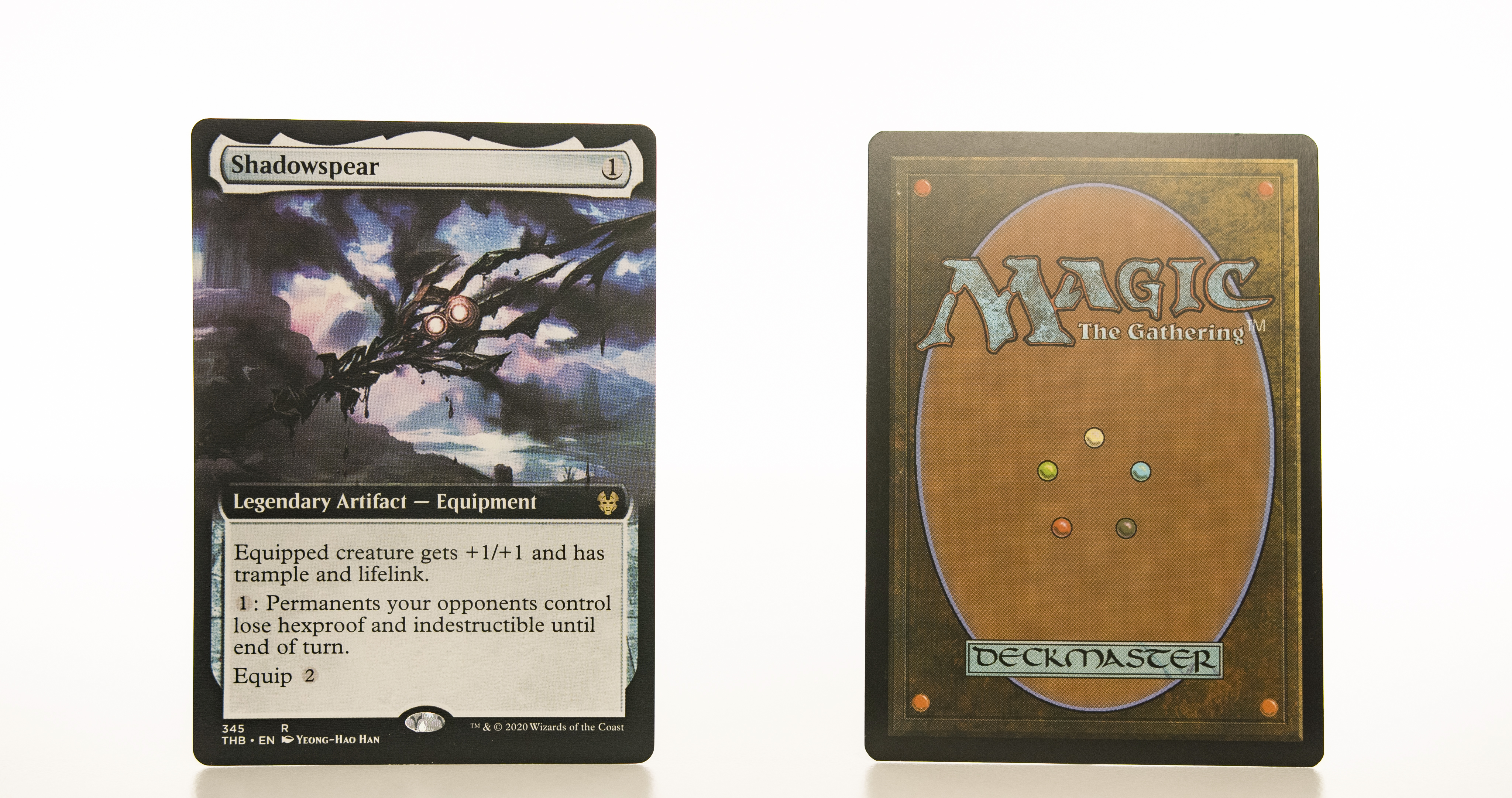 Shadowspear extended art THB Theros beyond death hologram mtg proxy magic the gathering tournament proxies GP FNM available