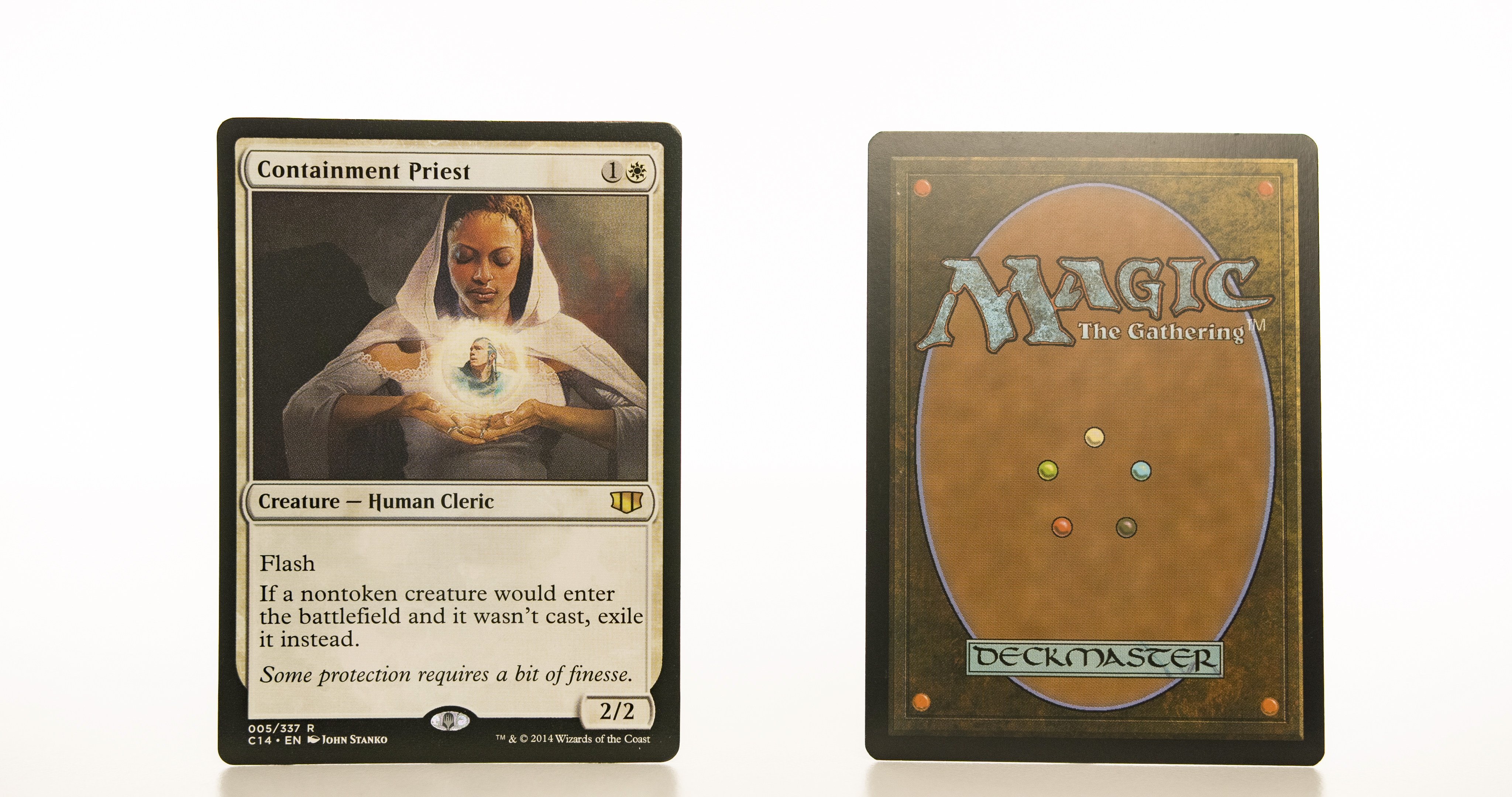 Containment Priest C14 mtg proxy magic the gathering tournament proxies GP FNM available