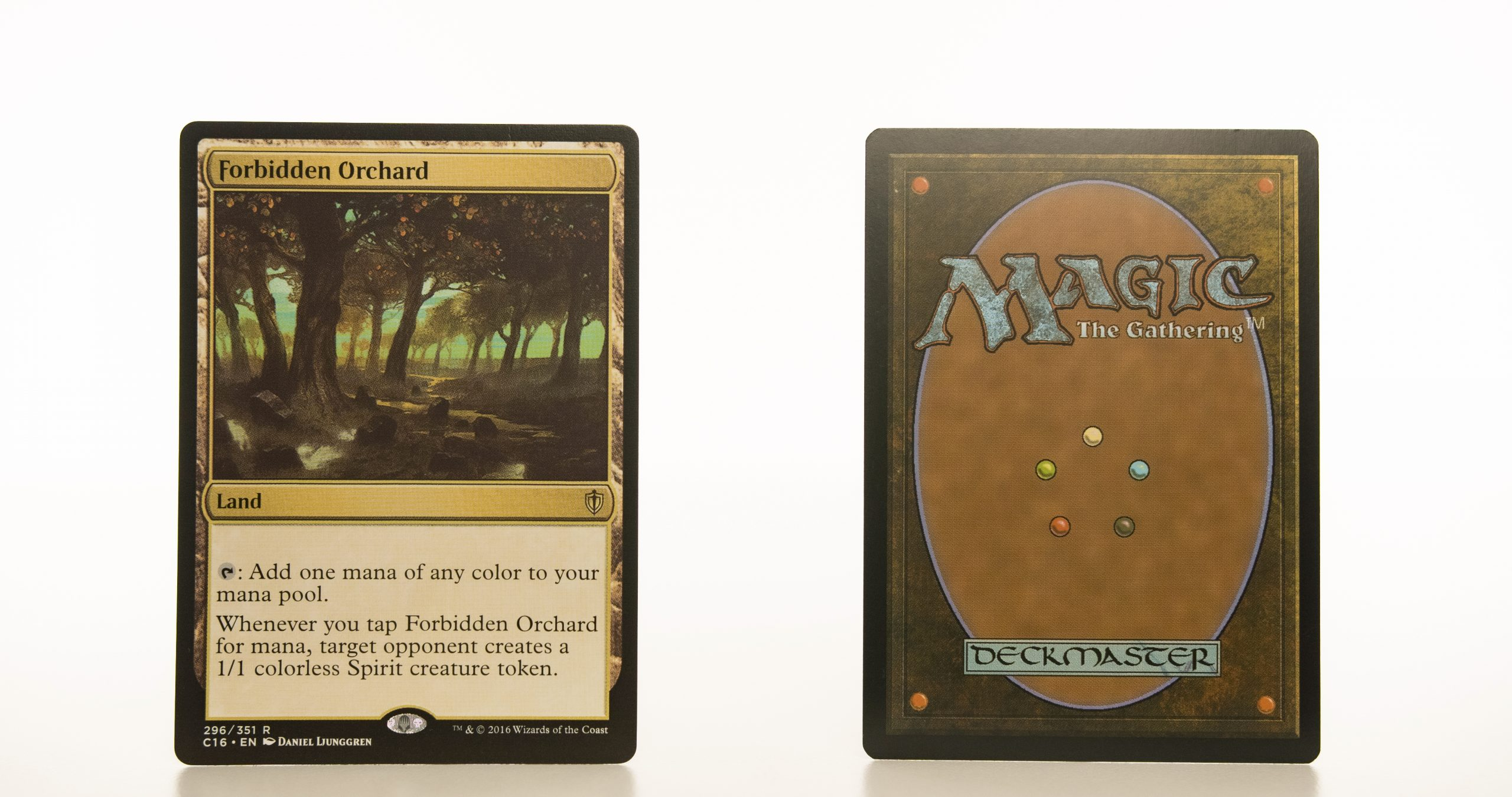 Forbidden Orchard C16 hologram mtg proxy magic the gathering tournament proxies GP FNM available