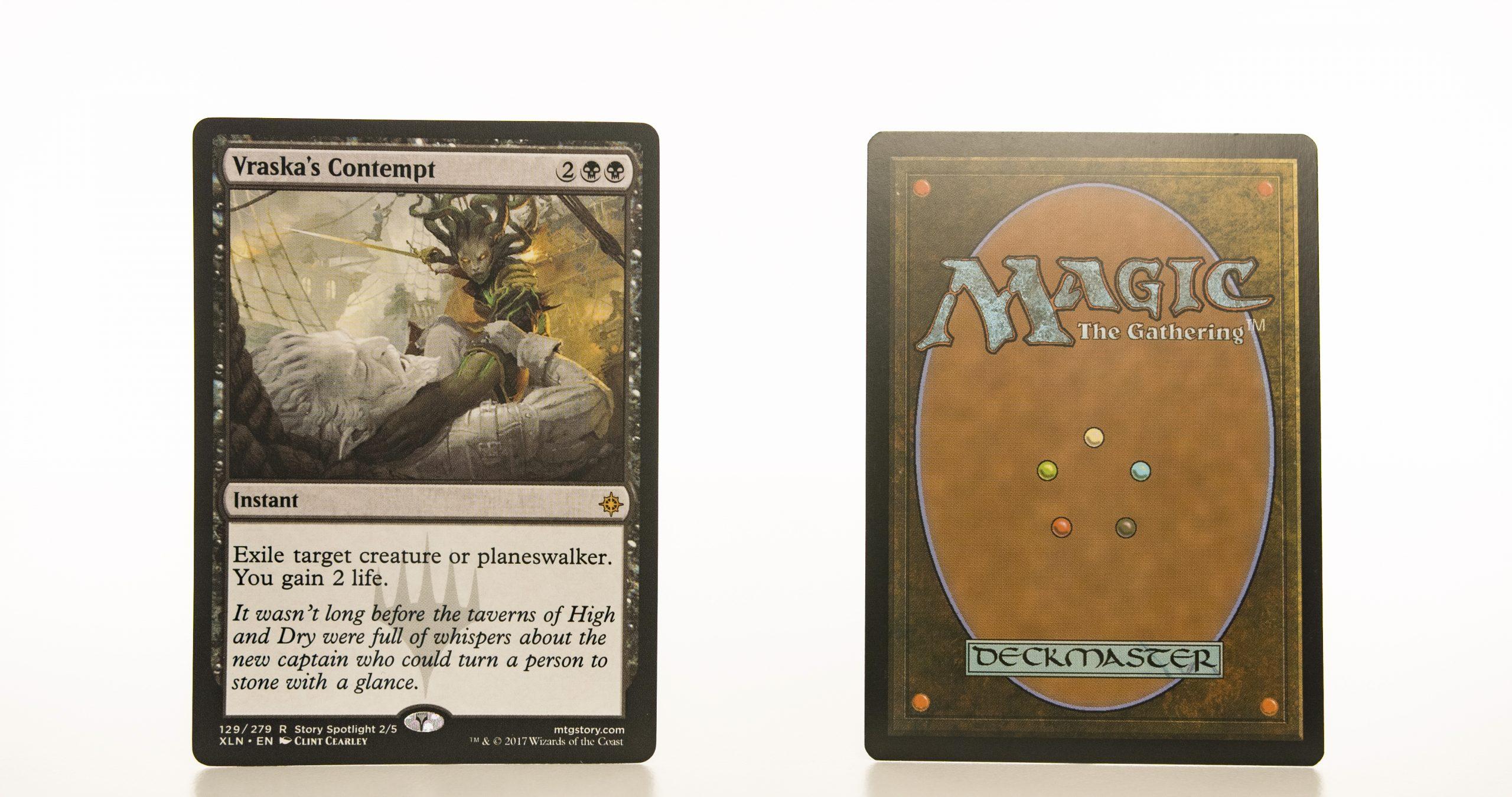 Vraska's Contempt Ixalan(XLN) mtg proxy magic the gathering tournament proxies GP FNM available