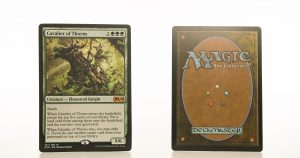 Cavalier of Thorns M20 mtg proxy magic the gathering tournament proxies GP FNM available
