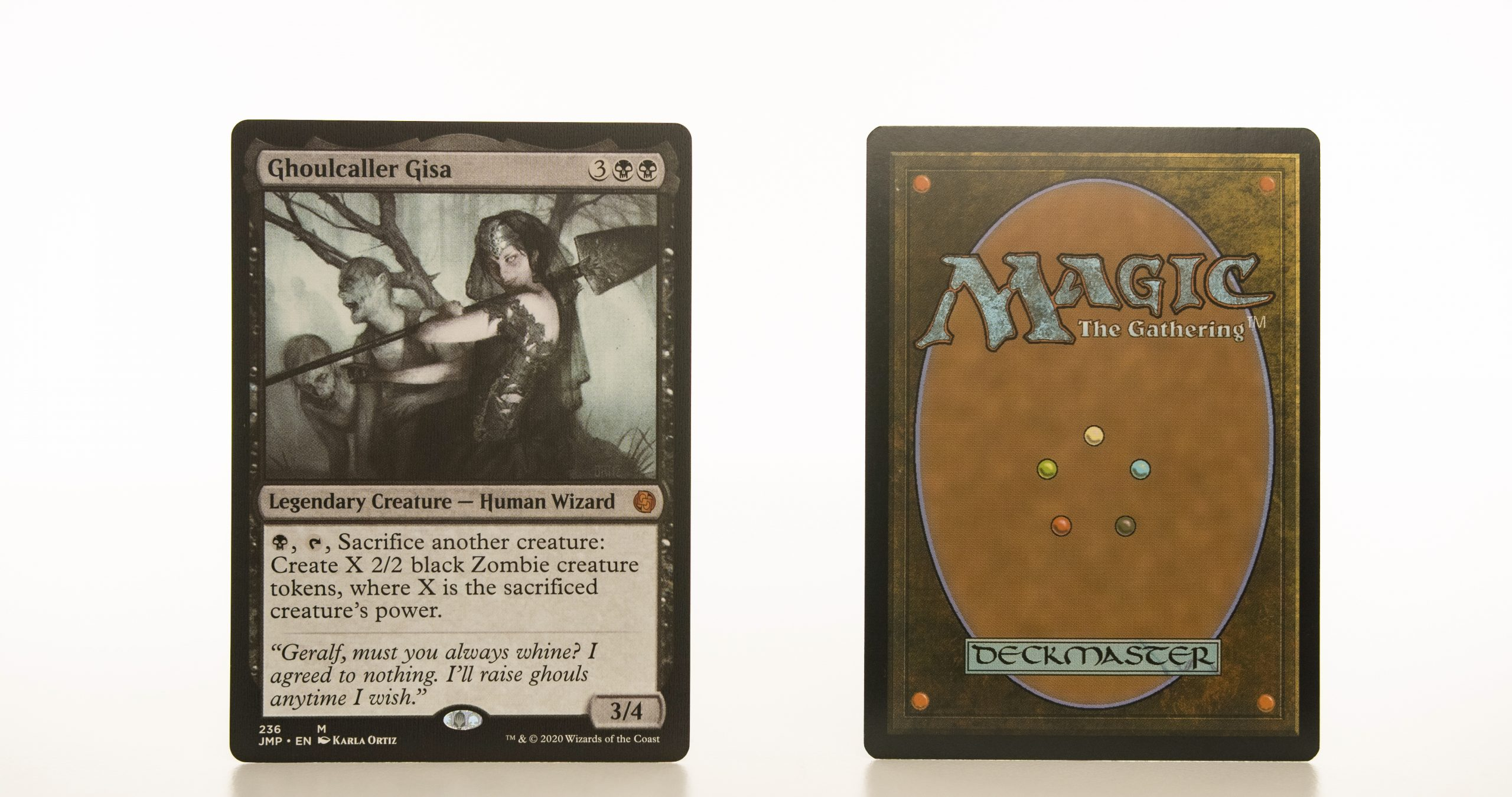 Ghoulcaller Gisa c14 hologram mtg proxy magic the gathering tournament proxies GP FNM available