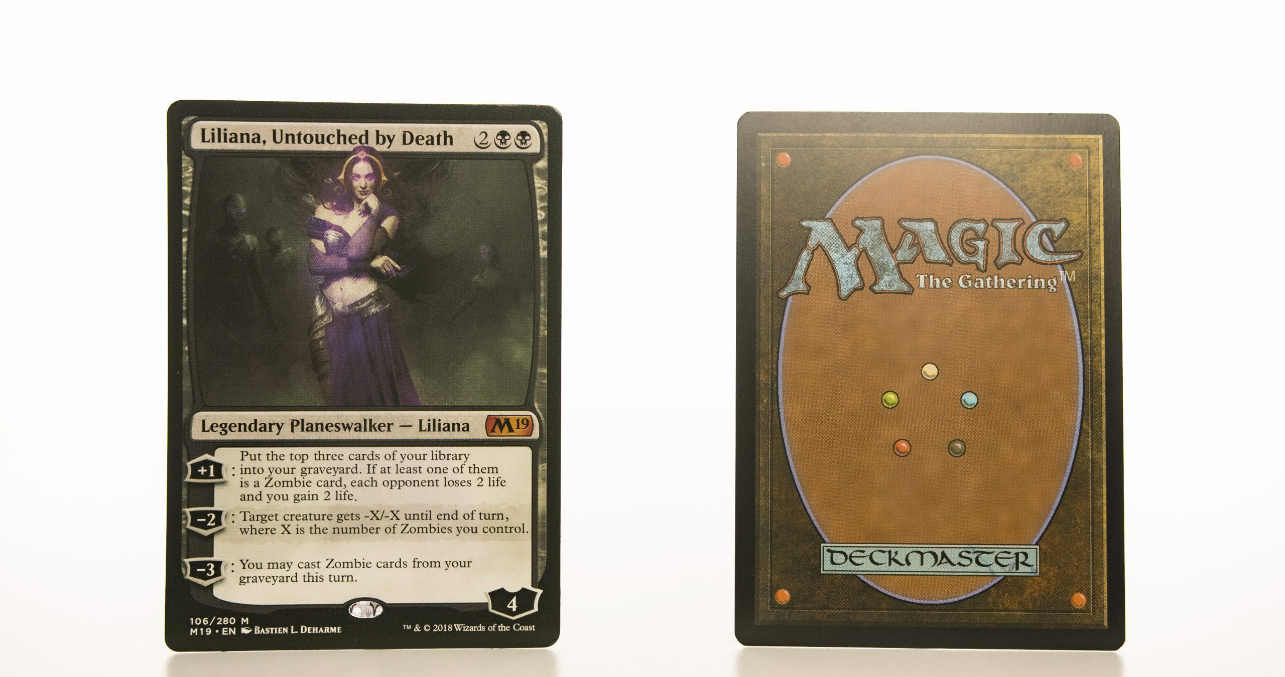 Liliana, Untouched by Death M19 mtg proxy magic the gathering tournament proxies GP FNM available