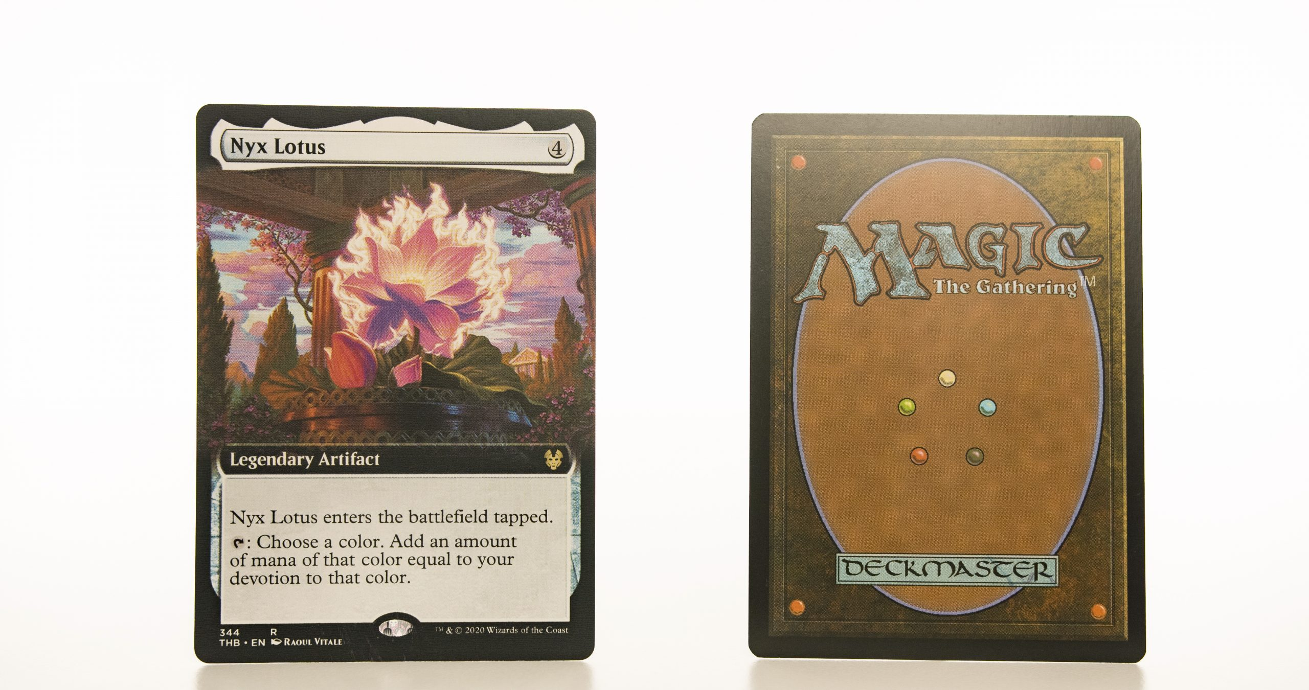 Nyx Lotus extended art THB Theros beyond death hologram mtg proxy magic the gathering tournament proxies GP FNM available