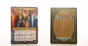 The Royal Scions ELD Throne of Eldraine hologram mtg proxy magic the gathering tournament proxies GP FNM available
