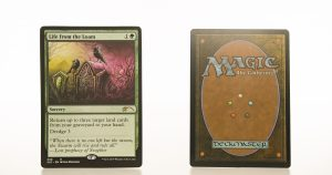 Life from the Loam Secret Lair Drop (SLD) hologram mtg proxy magic the gathering tournament proxies GP FNM available