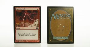Lightning Bolt   mtg proxy magic the gathering tournament proxies GP FNM available