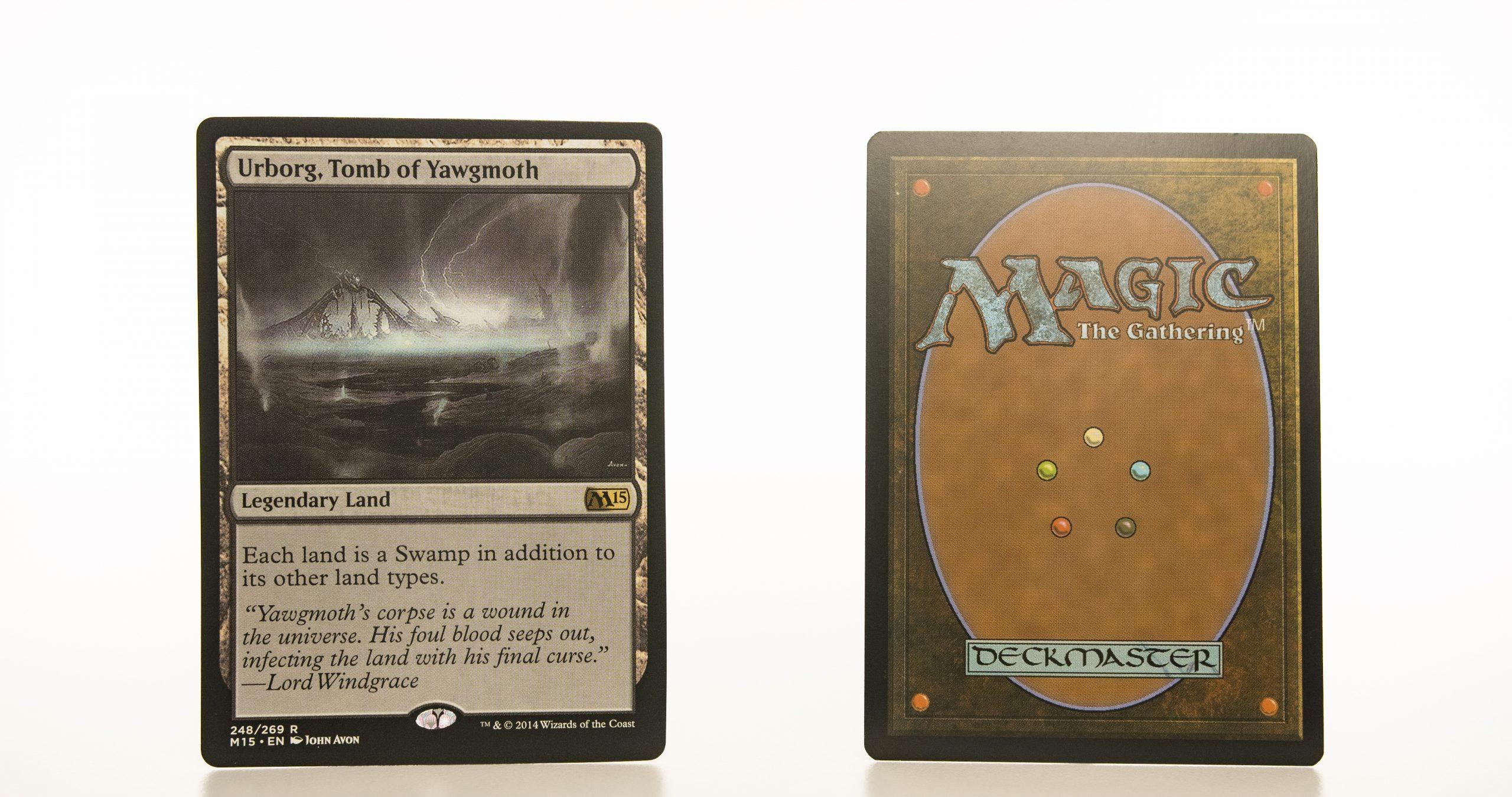 Urborg, Tomb of Yawgmoth M15 mtg proxy magic the gathering tournament proxies GP FNM available