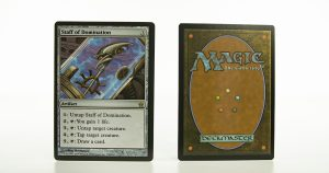 Staff of Domination  5DN fifth dawn mtg proxy magic the gathering tournament proxies GP FNM available