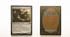 Wurmcoil Engine 2XM Double Masters hologram mtg proxy magic the gathering tournament proxies GP FNM available