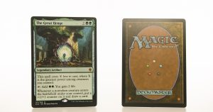 The Great Henge ELD Throne of Eldraine hologram mtg proxy magic the gathering tournament proxies GP FNM available