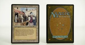 Bazaar of Baghdad Arabian Nights  mtg proxy magic the gathering tournament proxies GP FNM available