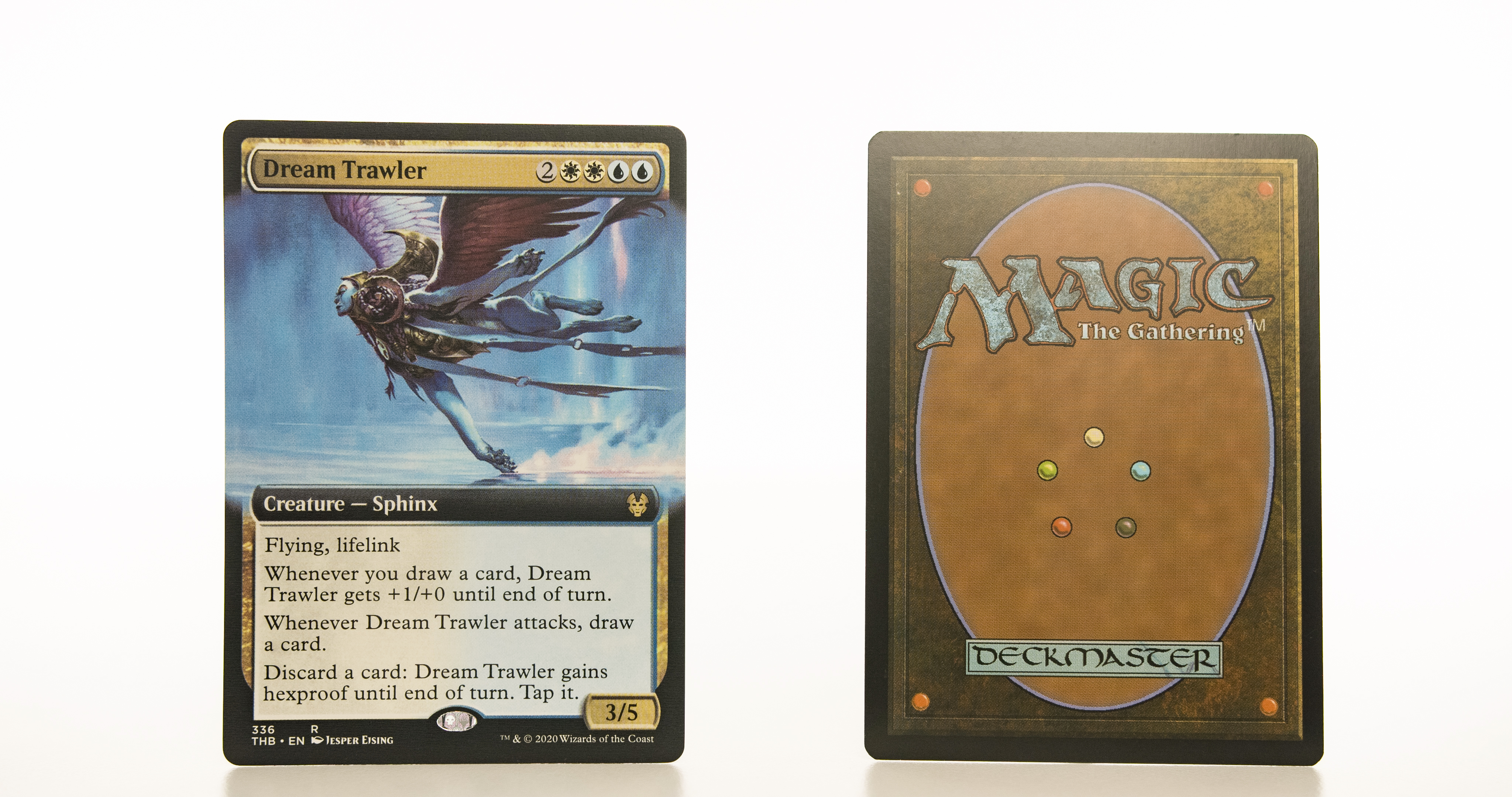 Dream Trawler extended art THB Theros beyond death hologram mtg proxy magic the gathering tournament proxies GP FNM available
