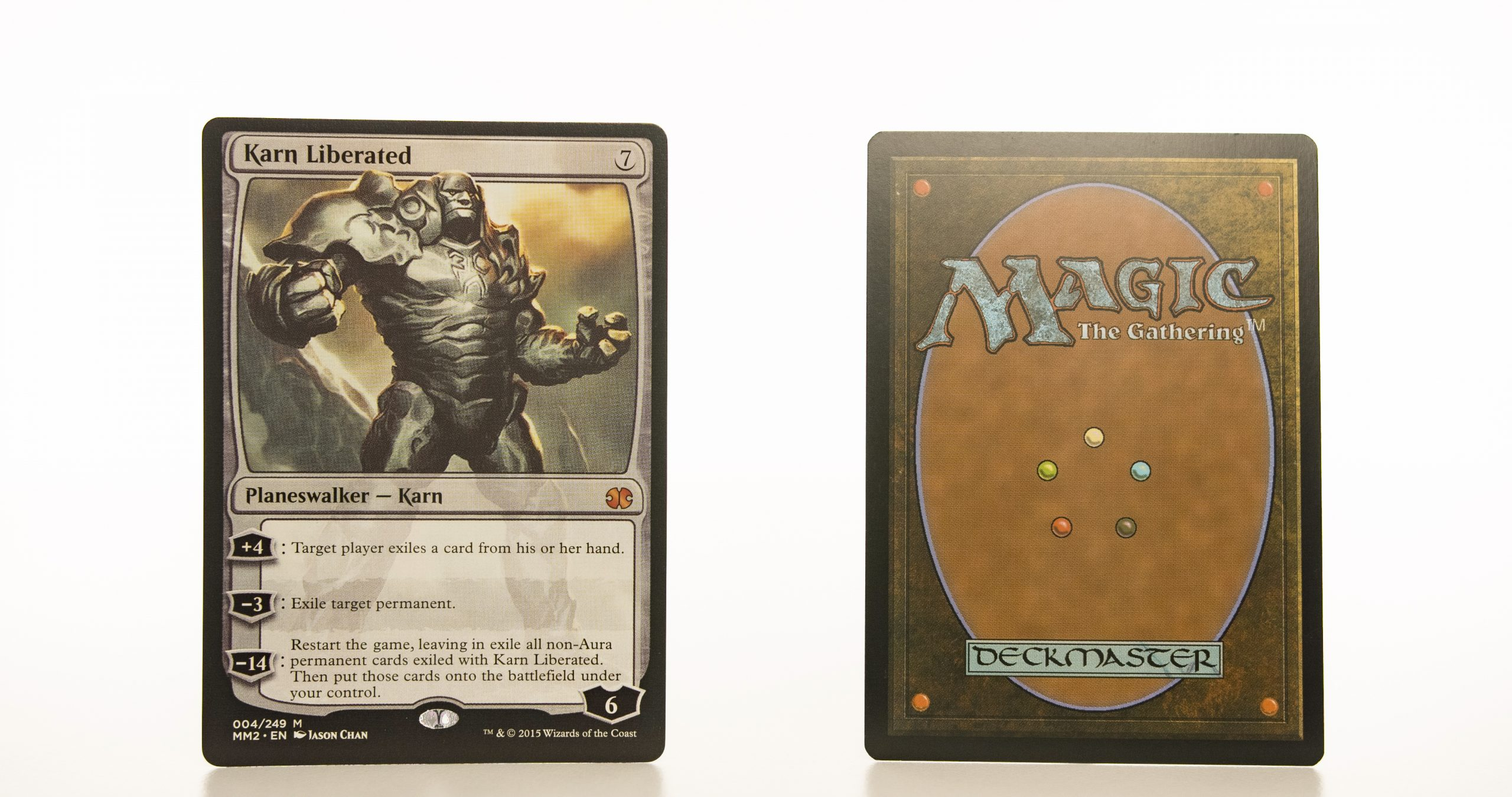 Karn Liberated MM2 (Modern Masters 2015) mtg proxy magic the gathering tournament proxies GP FNM available