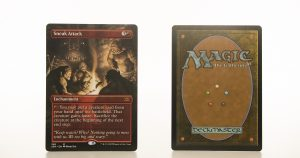 Sneak Attack Extended Art 2XM Double Masters hologram mtg proxy magic the gathering tournament proxies GP FNM available
