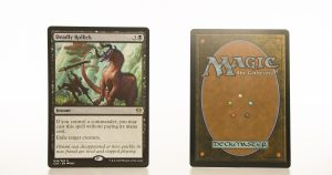 Deadly Rollick C20 hologram mtg proxy magic the gathering tournament proxies GP FNM available