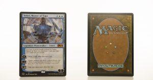 Teferi, Master of Time 275 core set 2021 M21 hologram mtg proxy magic the gathering tournament proxies GP FNM available