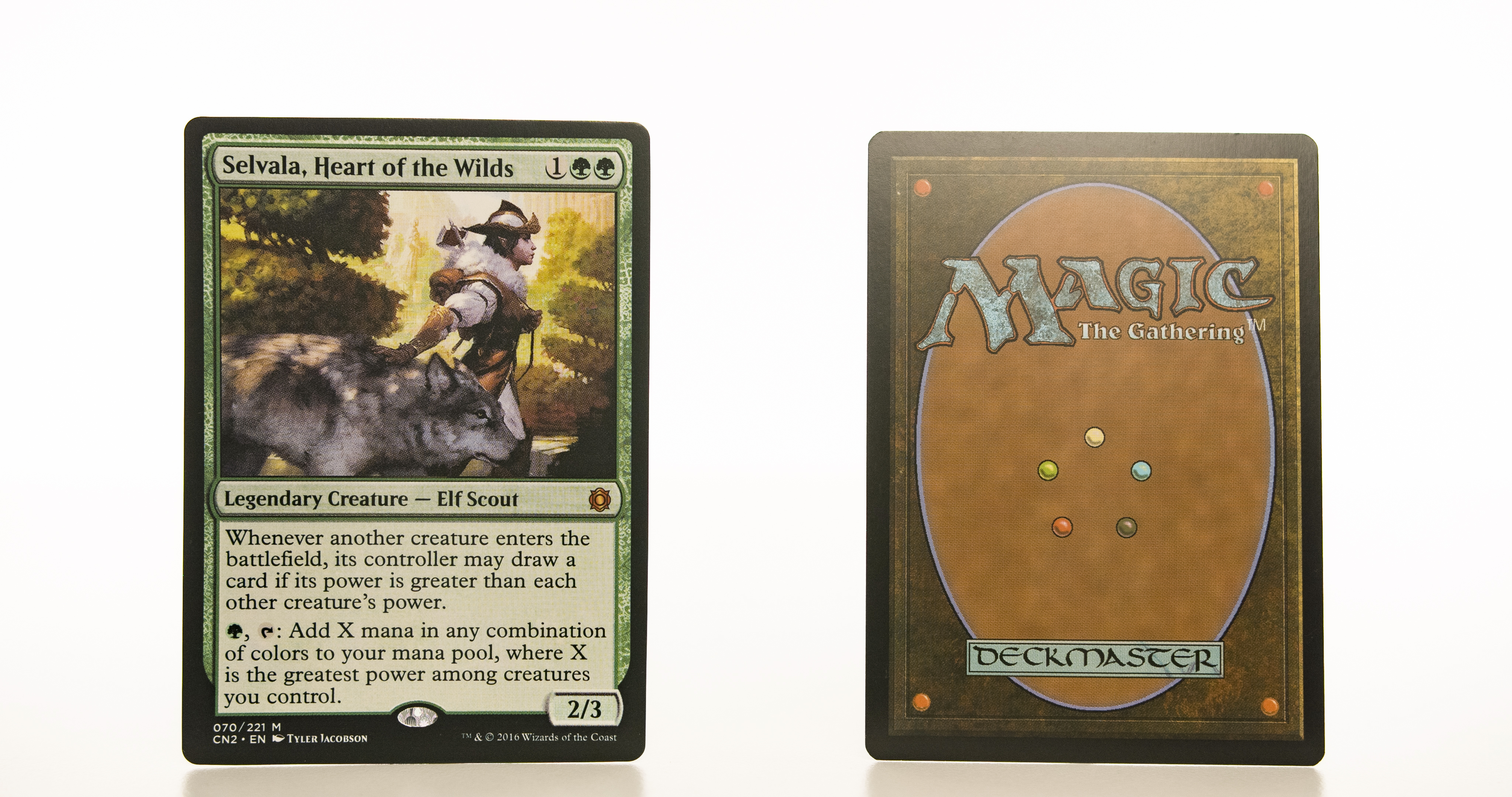 Selvala, Heart of the Wilds CN2 mtg proxy magic the gathering tournament proxies GP FNM available