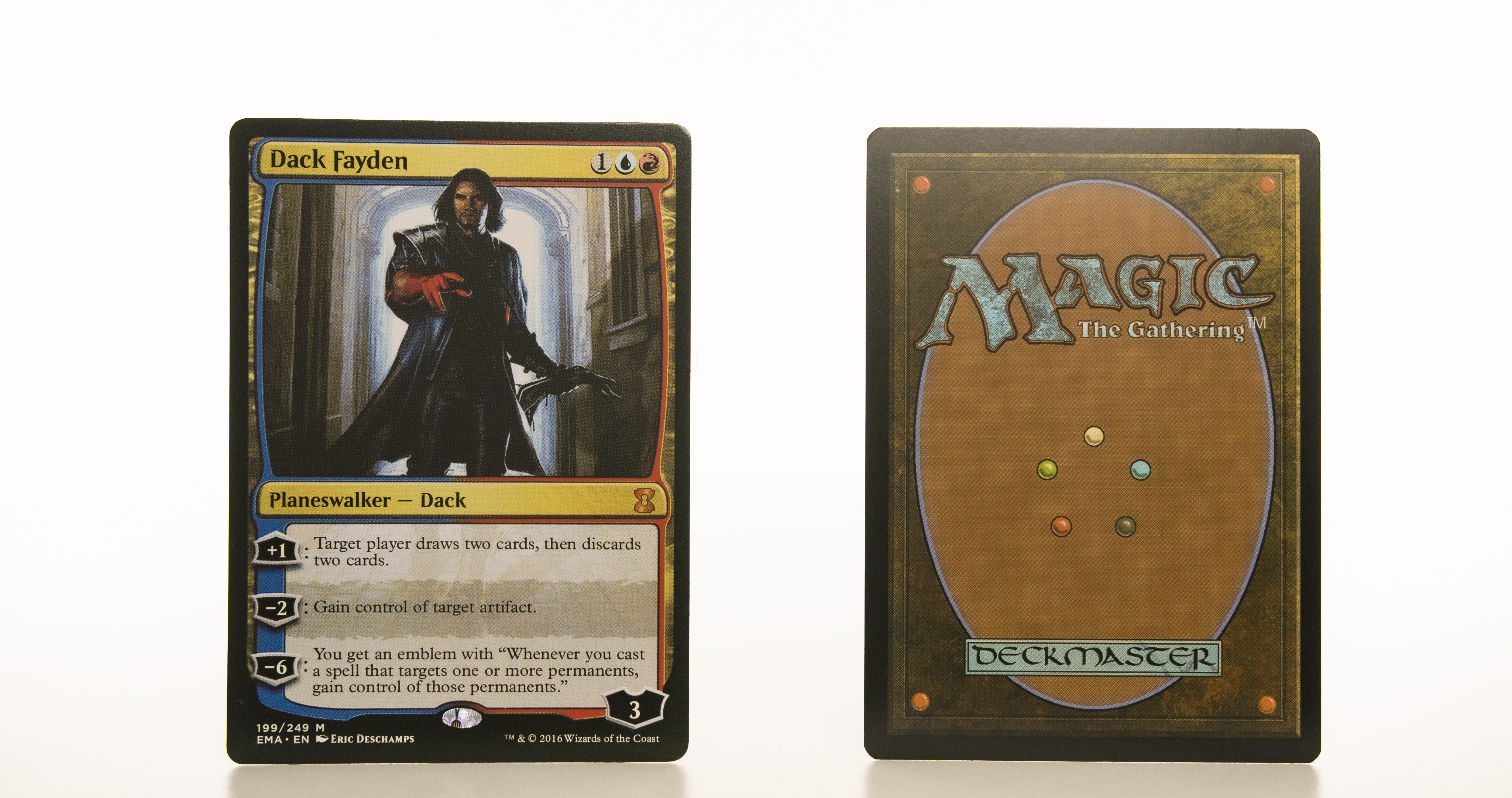 Dack Fayden  Eternal Masters EMA mtg proxy magic the gathering tournament proxies GP FNM available
