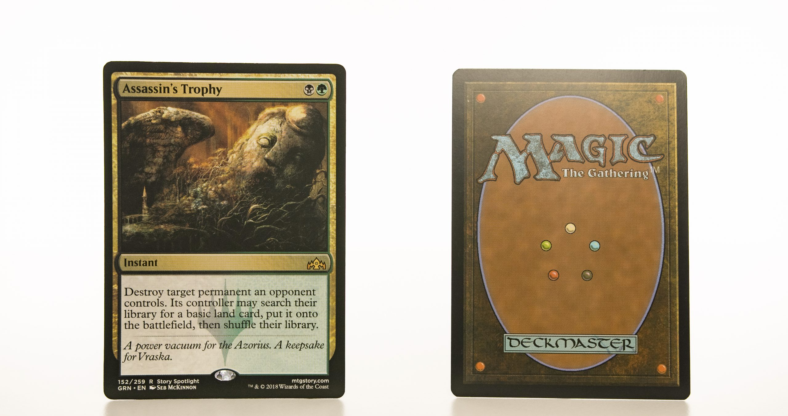assassin's trophy GRN mtg proxy magic the gathering tournament proxies GP FNM available