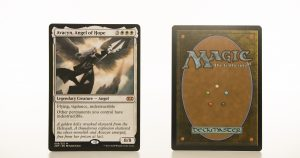 Avacyn, Angel of Hope 2XM Double Masters hologram mtg proxy magic the gathering tournament proxies GP FNM available