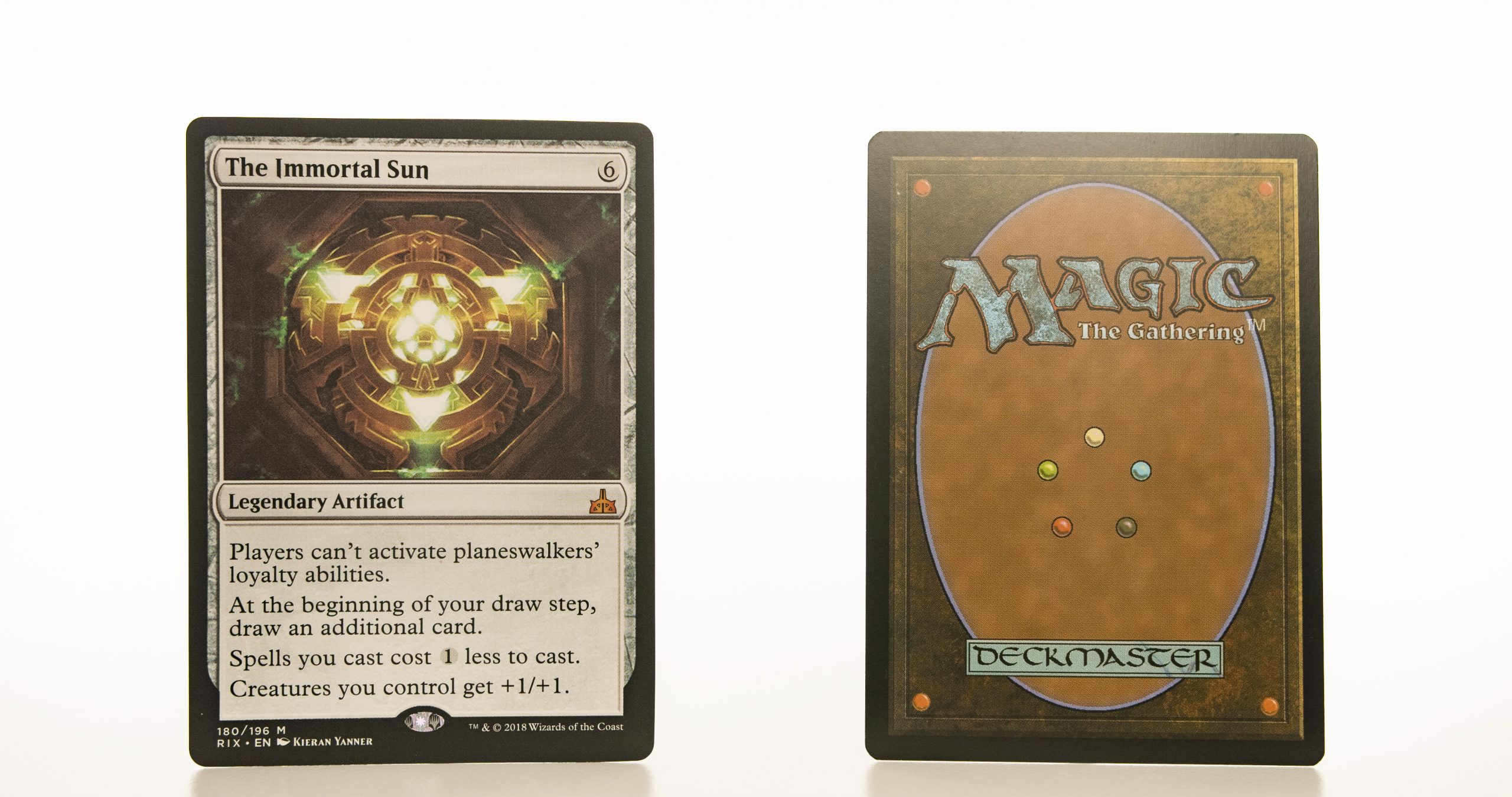 The Immortal Sun RIX mtg proxy magic the gathering tournament proxies GP FNM available