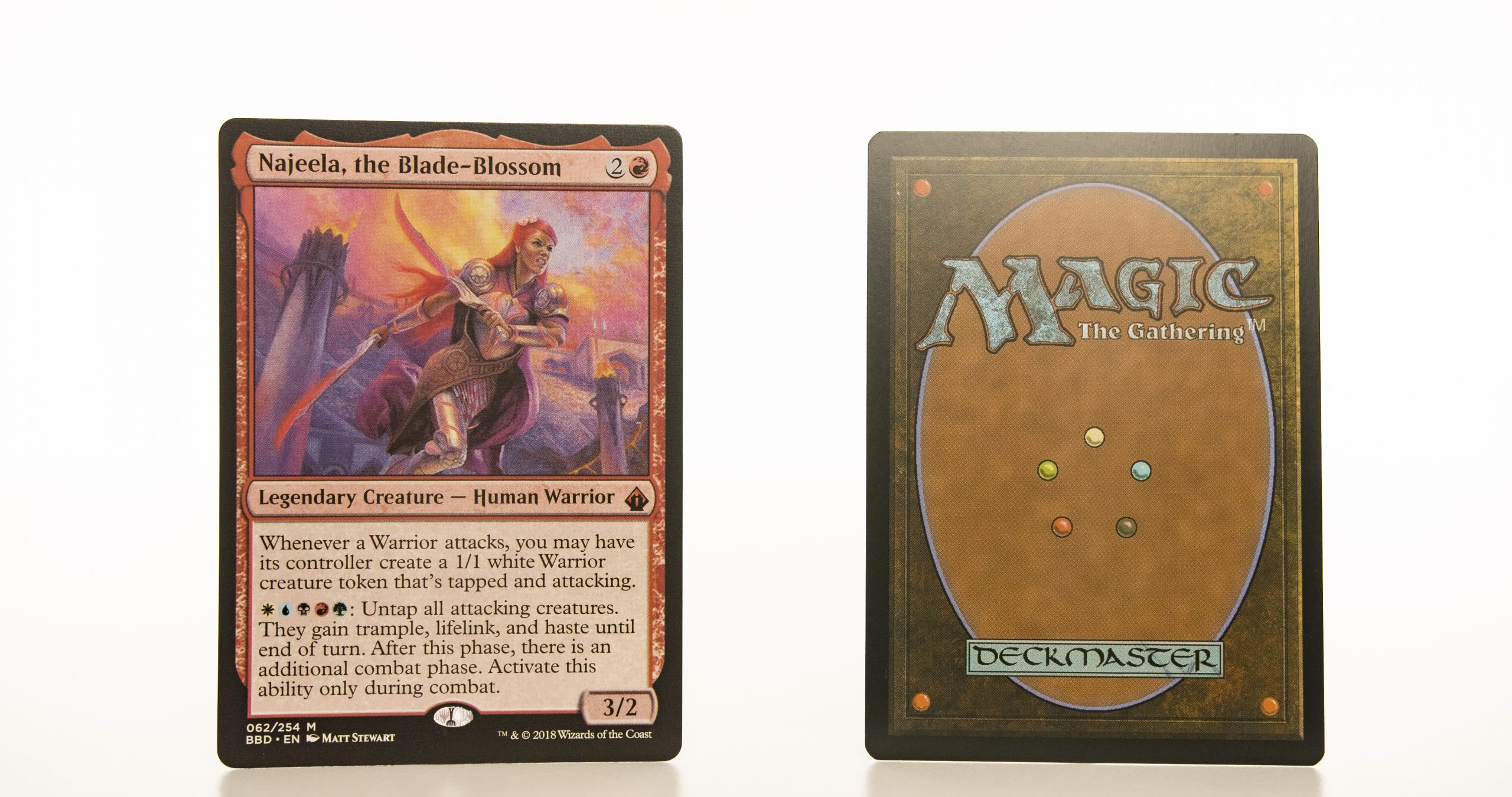 Najeela, the blade blossom BBD mtg proxy magic the gathering tournament proxies GP FNM available