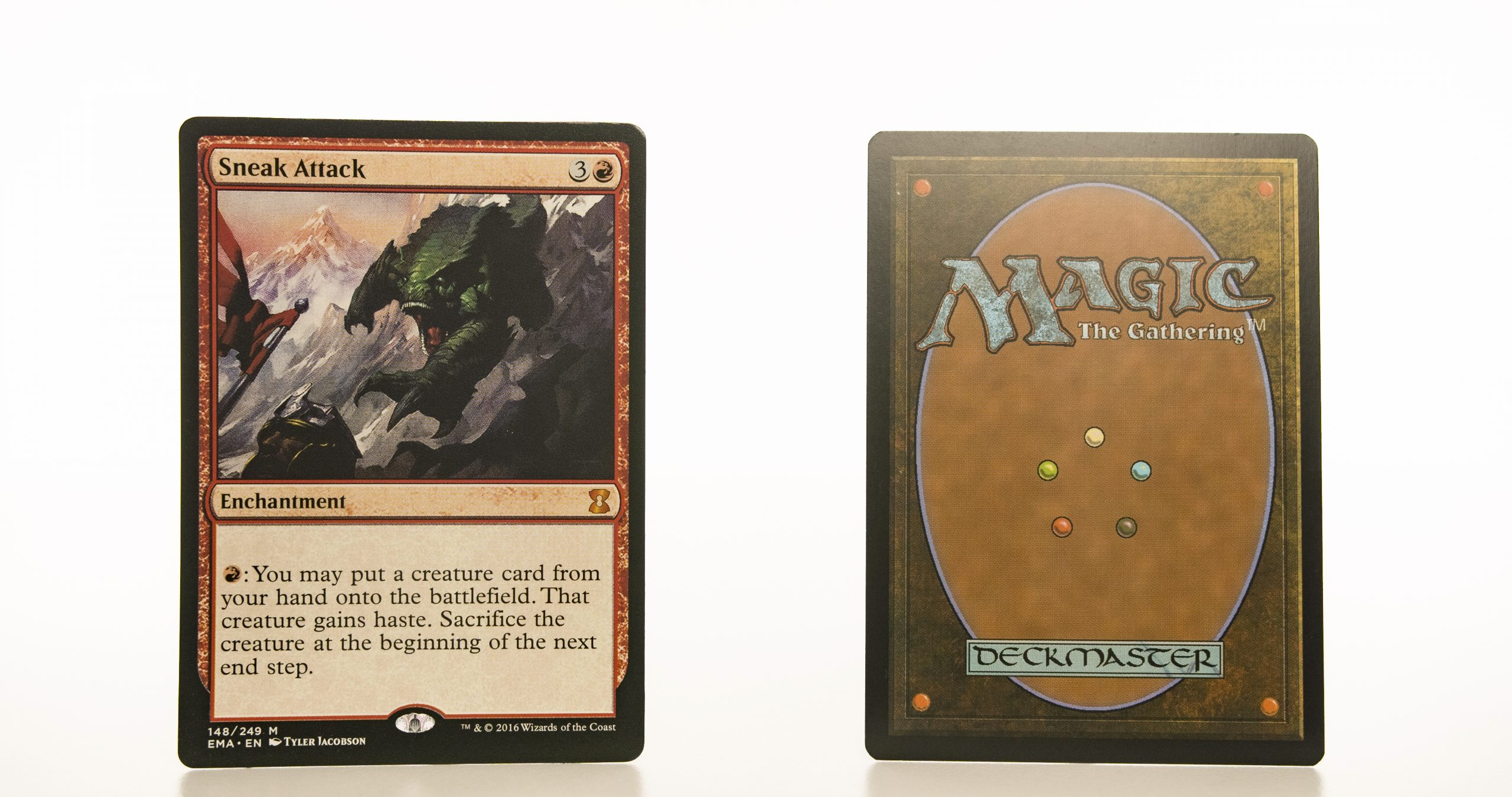 Sneak Attack EMA mtg proxy magic the gathering tournament proxies GP FNM available
