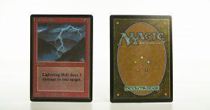 Lightning Bolt   B Limited Edition Beta (LEB) mtg proxy magic the gathering tournament proxies GP FNM available