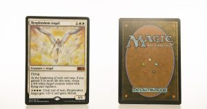Resplendent Angel M19 mtg proxy magic the gathering tournament proxies GP FNM available