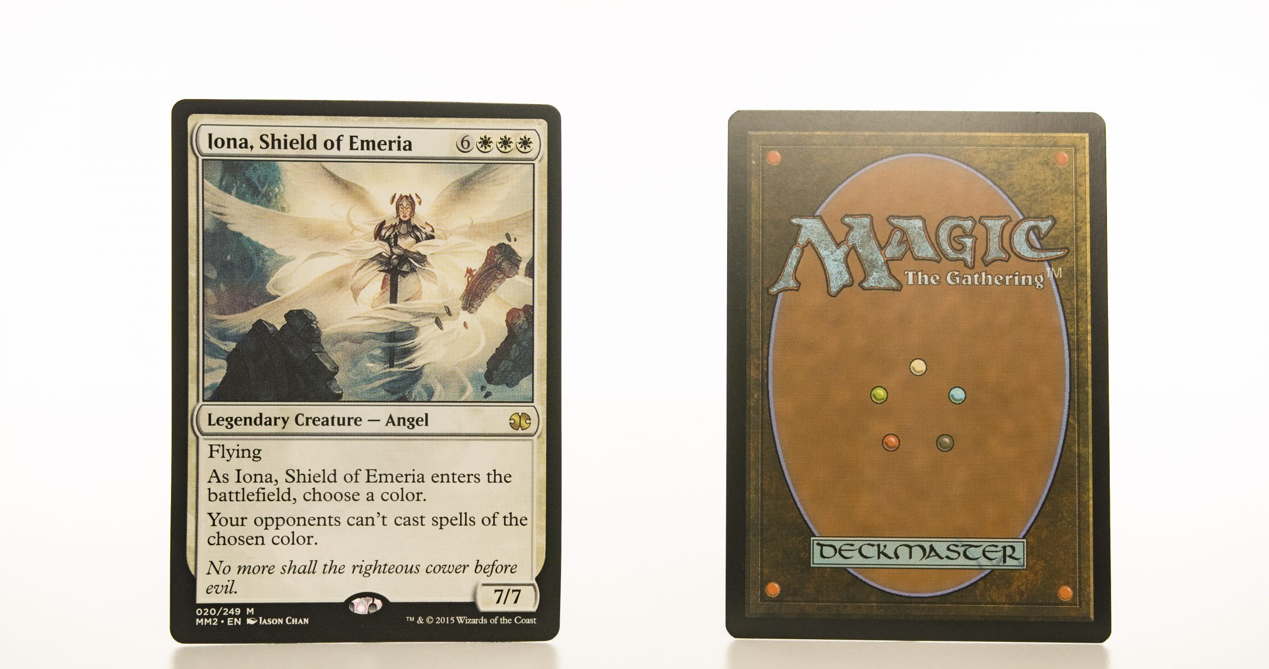 Iona, Shield of Emeria MM2 (Modern Masters 2015) mtg proxy magic the gathering tournament proxies GP FNM available