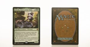 Selvala, Heart of the Wilds Jumpstart (JMP) hologram mtg proxy magic the gathering tournament proxies GP FNM available