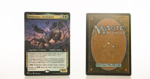 Polukranos, Unchained extended art THB Theros beyond death hologram mtg proxy magic the gathering tournament proxies GP FNM available