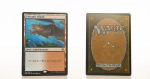 Volcanic Island Vintage Masters hologram mtg proxy magic the gathering tournament proxies GP FNM available