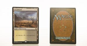 Scrubland Vintage Masters hologram mtg proxy magic the gathering tournament proxies GP FNM available