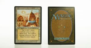 City of Brass   AN (Arabian Nights) ARN mtg proxy magic the gathering tournament proxies GP FNM available