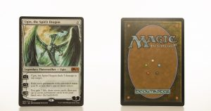 Ugin, the Spirit Dragon 001 core set 2021 M21 hologram mtg proxy magic the gathering tournament proxies GP FNM available