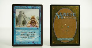 Ancestral Recall Beta mtg proxy magic the gathering tournament proxies GP FNM available