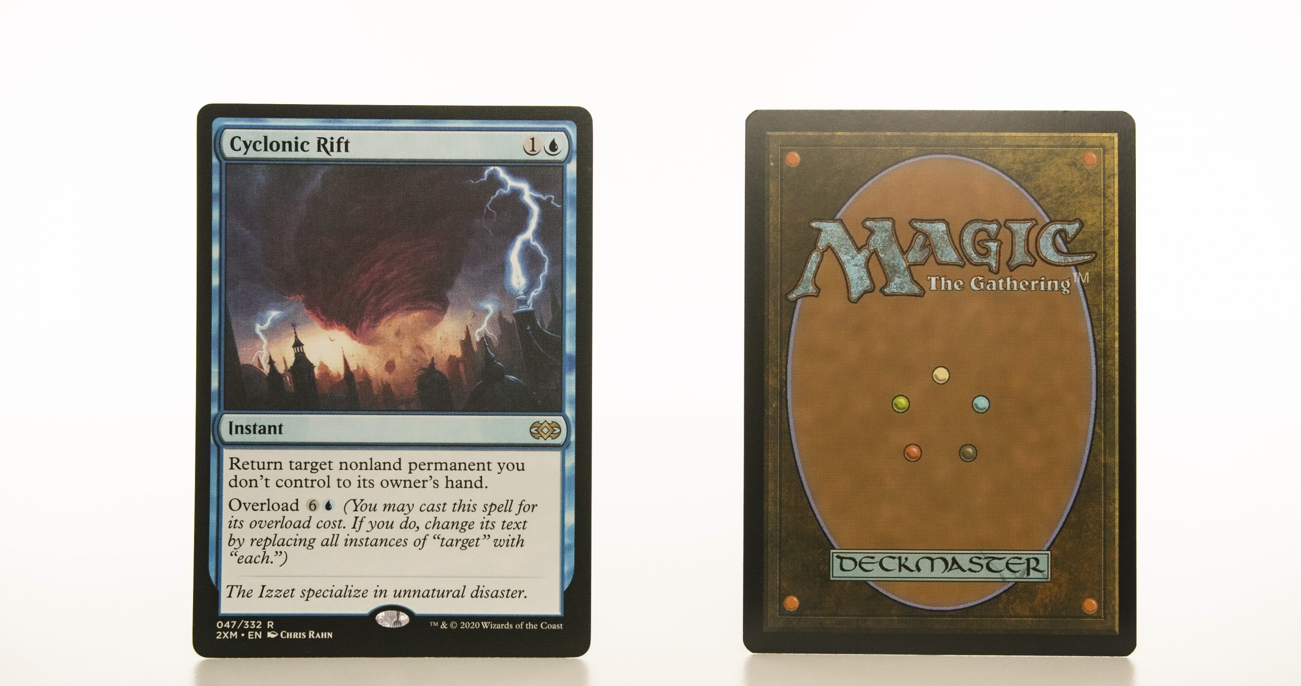 Cyclonic Rift 2XM Double Masters hologram mtg proxy magic the gathering tournament proxies GP FNM available
