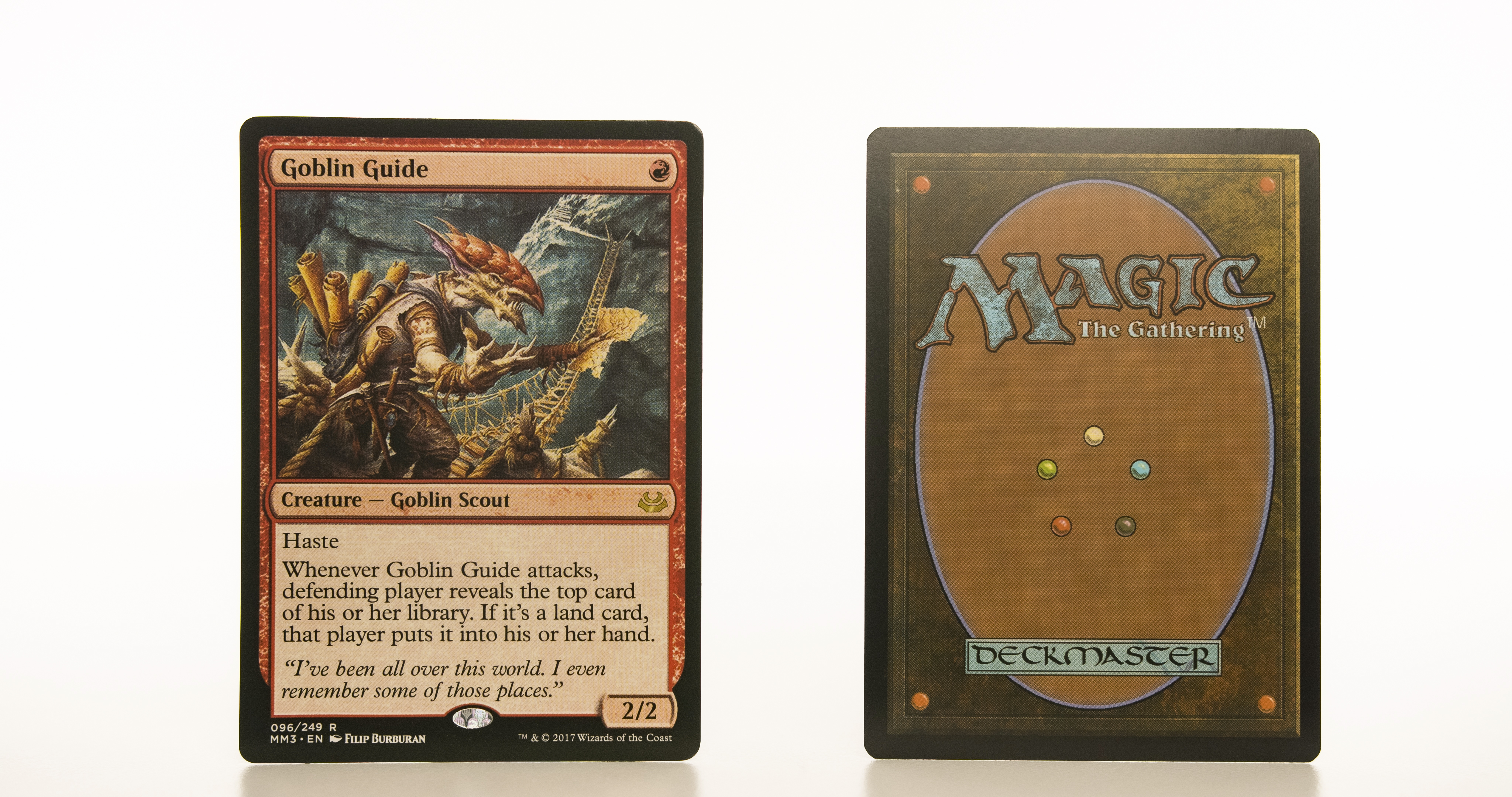 Goblin Guide  MM3 Modern Masters 2017 mtg proxy magic the gathering tournament proxies GP FNM available