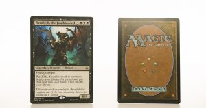 Razaketh, the Foulblooded HOU hologram mtg proxy magic the gathering tournament proxies GP FNM available