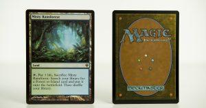 Misty Rainforest Zendikar mtg proxy magic the gathering tournament proxies GP FNM available