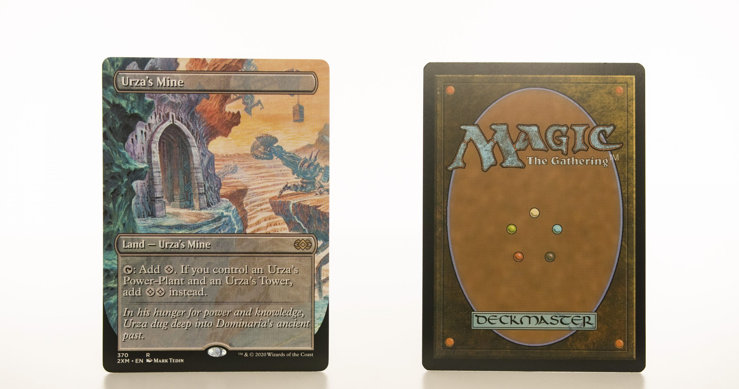 Urza's Mine Extended Art 2XM Double Masters hologram mtg proxy magic the gathering tournament proxies GP FNM available