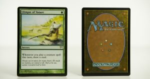 Glimpse of Nature Champions of Kamigawa mtg proxy magic the gathering tournament proxies GP FNM available